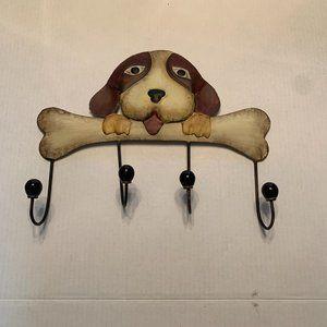 3 for $30 Metal 4 Hook Dog Wall Hook